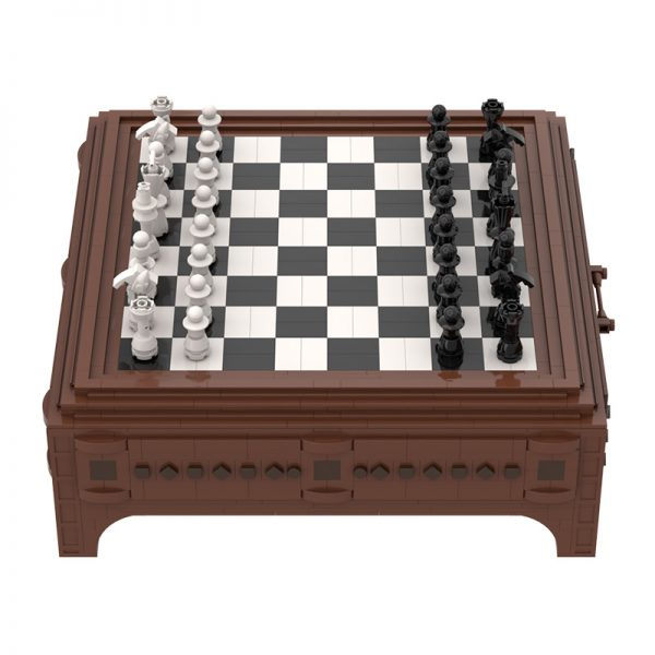Chess and Checkers CREATOR MOC-89868 WITH 1786 PIECES