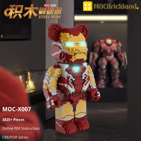 Steel Bear CREATOR MOC-X007 WITH 3825 PIECES