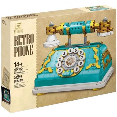 Retro Telephone CREATOR Qi Zhile 90020 with 859 pieces