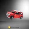 Classic Mini Cooper MOC 3220 Technic Designed By Artemy Zotov Produced By MOC BRICK LAND