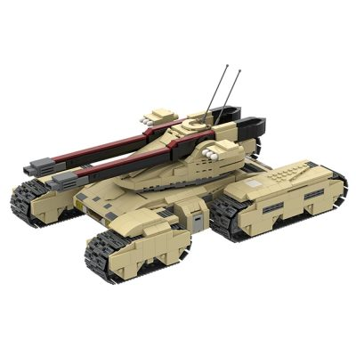 GDI Mammoth MK-3 MILITARY MOC-22742 WITH 1327 PIECES
