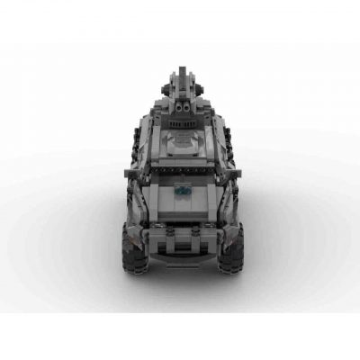Futuristic APC Radio Controlled (Minifig Size) MILITARY MOC-58291 by Kilo-Whiskey WITH 1498 PIECES