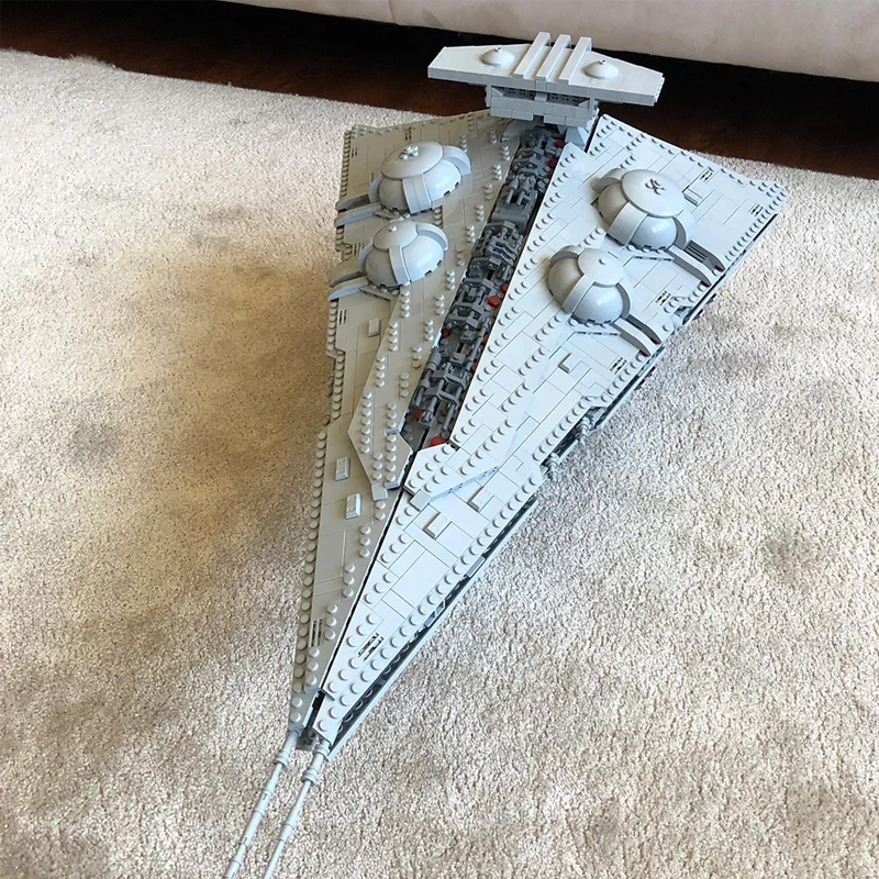 MOC-14601 Star Wars Constrictor II – Playable Interdictor Cruiser Designed By raskolnikov With 4450 Pieces