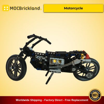 Motorcycle MOC-18830 Technic Designed By MP-Factory With 314 Pieces
