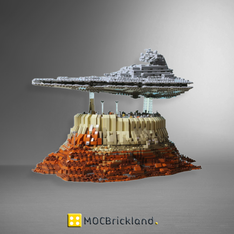 MOC 18916 The Empire over Jedha City with 5098 Pieces