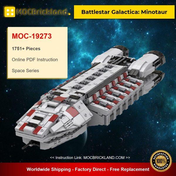 Battlestar Galactica: Minotaur MOC-19273 Space Designed By Ezra_Price With 1751 Pieces