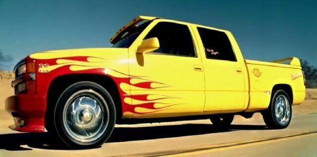 MOC-19802 Technic Kill Bill Chevrolet Silverado Designed By mkibs With 510 Pieces