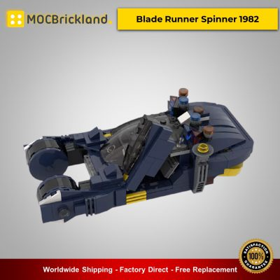 MOC-20383 Blade Runner Spinner 1982 Technic Designed By MOMAtteo79 With 304 Pieces