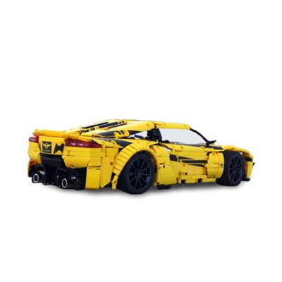 Rezvani Beast Alpha super car MOC-20510 by Loxlego WITH 2683 PIECES