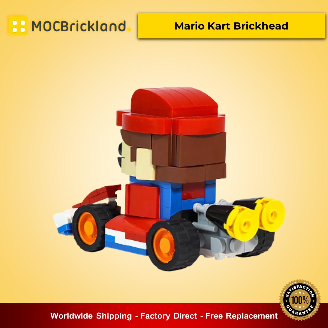 MOC-21773 Mario Kart Brickhead Movie Designed By VNMBricks With 241 Pieces