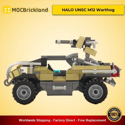 HALO UNSC M12 Warthog MOC-22291 Creator Designed By Raziel_Regulus With 343 Pieces