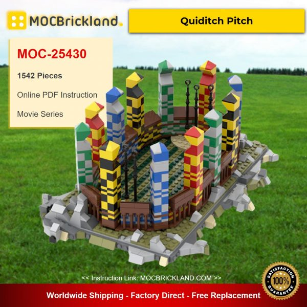 Quiditch Pitch MOC-25430 Movie Designed By Bricks64_DK With 1542 Pieces