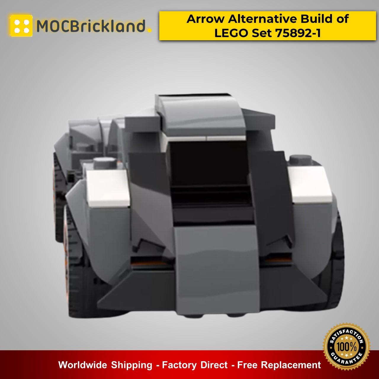 MOC-25814 Technic Arrow Alternative Build of LEGO Set 75892-1 By Lego Dark Side With 125 Pieces