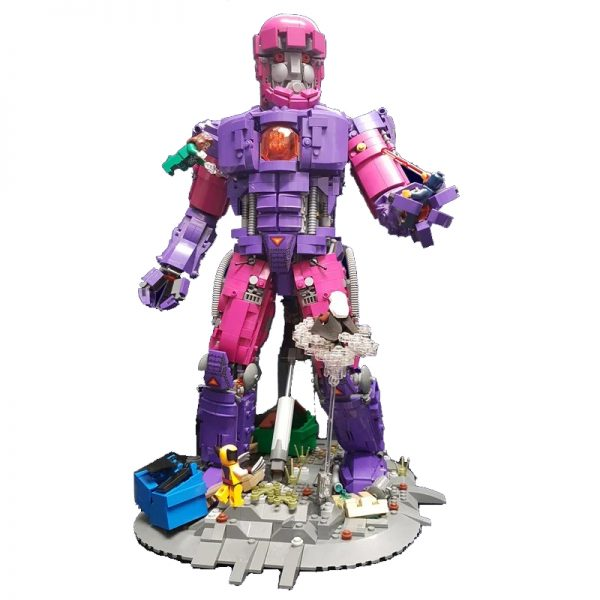 X-Men Sentinel Super Heroes Movie MOC-26309 by IScreamClone WITH 2506 PIECES