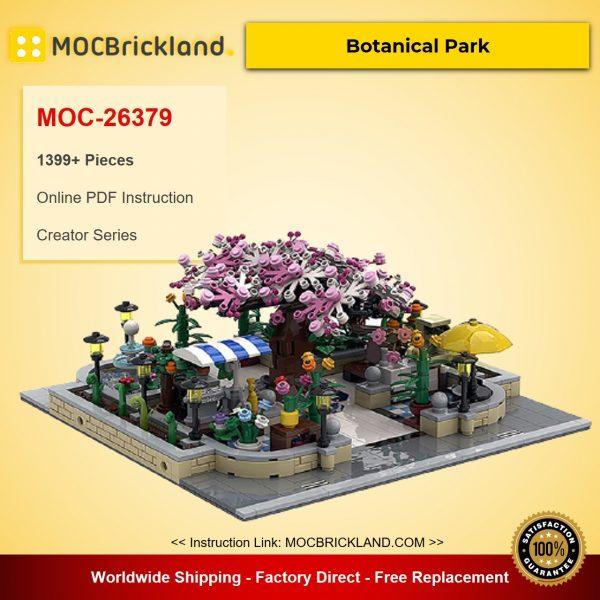 Botanical Park MOC-26379 Creator Designed By BrickPolis With 1399 Pieces
