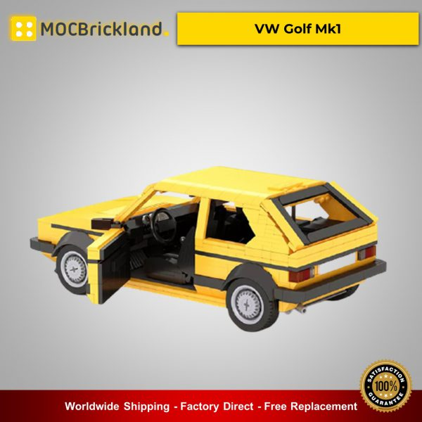 MOC-26902 Technic VW Golf Mk1 Designed By buildme With 1390 Pieces
