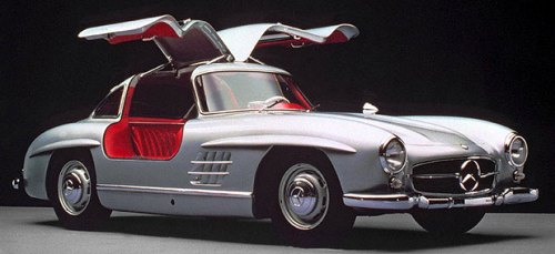 MOC-30152 Mercedes-Benz 300SL '54 Gullwing Super Technic Designed By Sheepo With 2113 Pieces