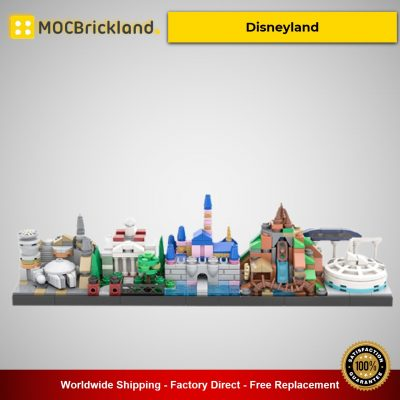 Disneyland MOC-34077 Movie Designed By benbuildslego With 535 Pieces