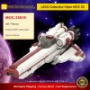 LEGO Galactica Viper MOC S3 MOC-35518 Space Designed By ohsojang With 491 Pieces