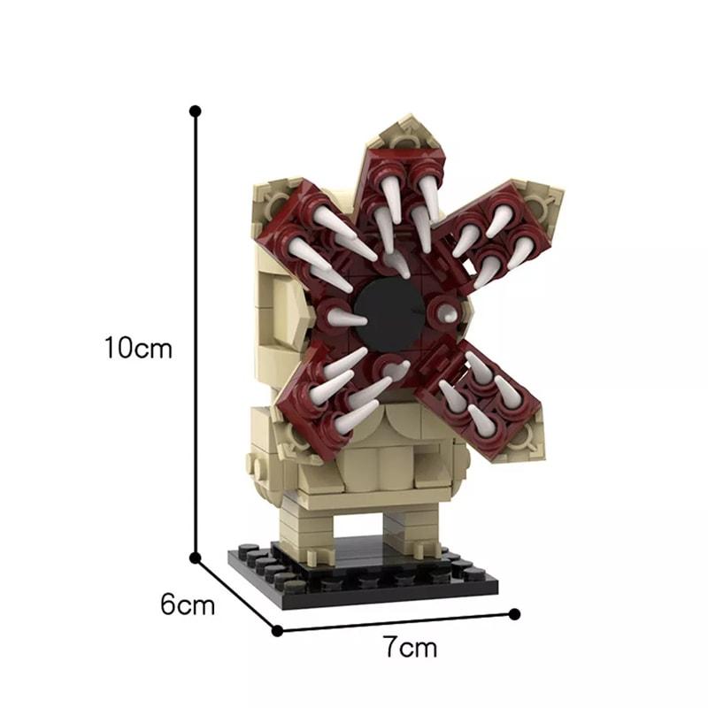 Stranger Things Demogorgon MOC Brickheadz Creator MOC-35522 by custominstructions WITH 158 PIECES