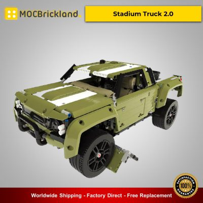 MOC-36089 Stadium Truck 2.0 Technic Designed By grohl With 2572 Pieces