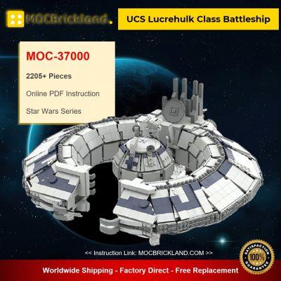 UCS Lucrehulk Class Battleship MOC-37000 Star Wars Designed By @Bas_Solo_Bricks1988 With 2205 Pieces