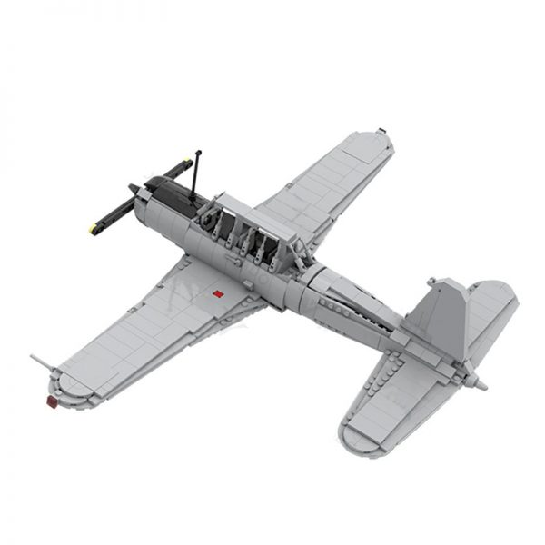 BT-13A Military MOC-39574 by Yellow.LXF with 912 pieces