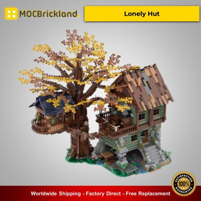 MOC-40180 Creator Lonely Hut Designed By nobsta With 3286 Pieces