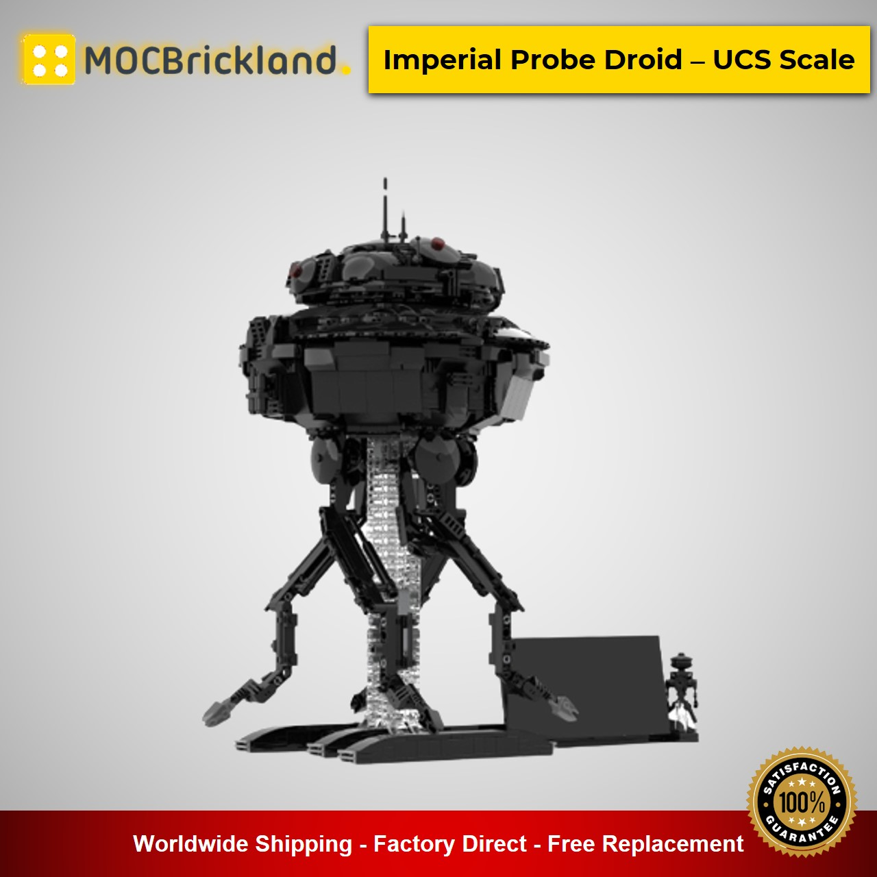MOC-43368 Imperial Probe Droid – UCS Scale by Jeffy-O With 1063 Pieces