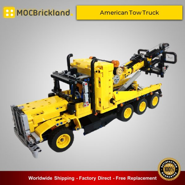 American Tow Truck MOC 43434 Technic Alternative LEGO 42108 Designed By Timtimgo With 1171 Pieces
