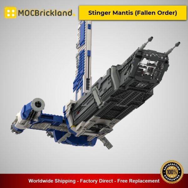 MOC-44568 Star Wars Stinger Mantis (Fallen Order) Designed By 2bricksofficial With 1791 Pieces