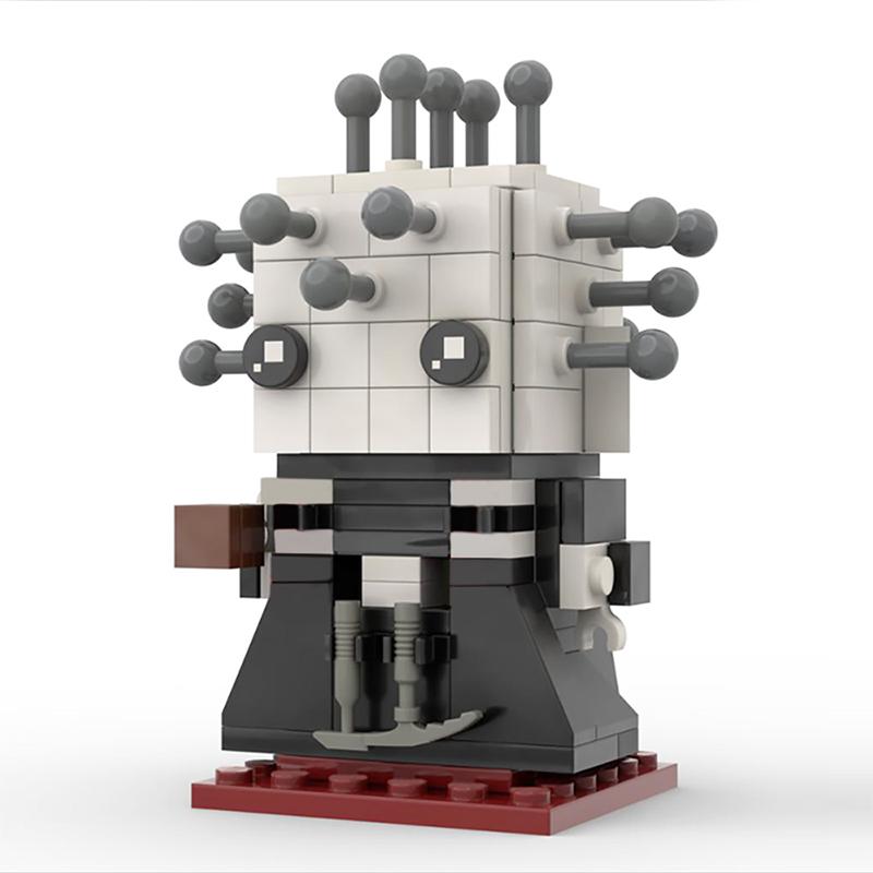 Hellraiser Pinhead Brickheadz 2 for 1 Creator MOC-44639 by Brickdroid WITH 235 PIECES