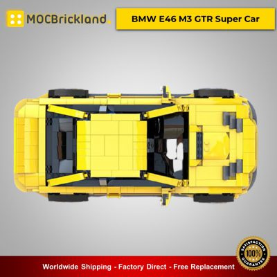 MOC-45363 Technic BMW E46 M3 GTR Super Car Designed By QuattroBricks With 1244 Pieces