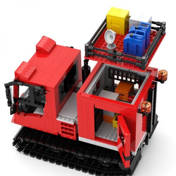 Kässbohrer Pistenbully 100 Antarktis (RC) Technic MOC-45605 by JBs Brick Creations with 1592 pieces
