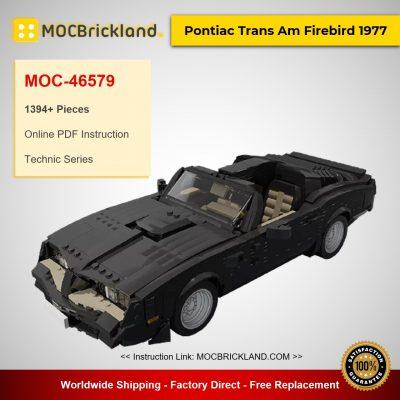 MOC-46579 Technic Pontiac Trans Am Firebird 1977 Designed By firas_legocars With 1394 Pieces