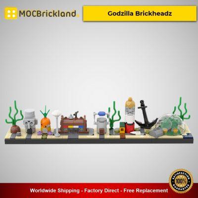 SpongeBob skyline MOC-47298 Creator Designed By benbuildslego With 262 Pieces