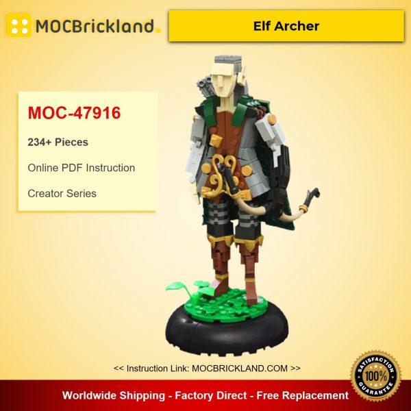 MOC-47916 Creator Elf Archer Designed By vir-a-cocha With 234 Pieces