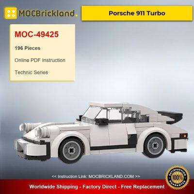 Porsche 911 Turbo MOC-49425 Technic Designed By legocarreplicas With 196 Pieces