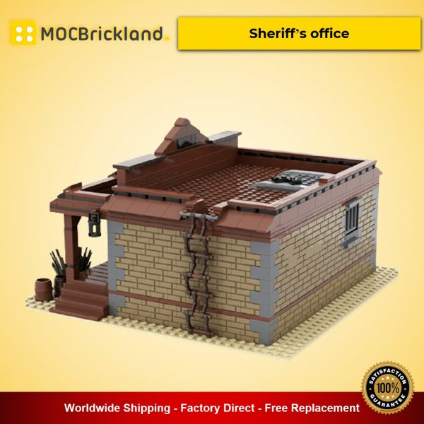 Sheriff's office Creator MOC-51547 By Huebre With 1124 Pieces