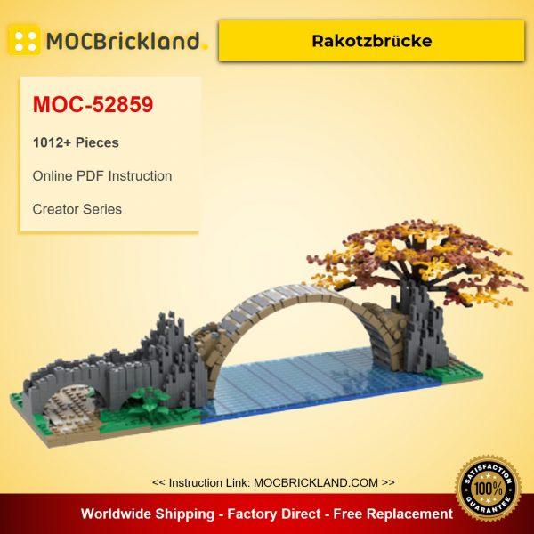 Rakotzbrücke MOC-52859 Creator Designed By Chricki With 1012 Pieces
