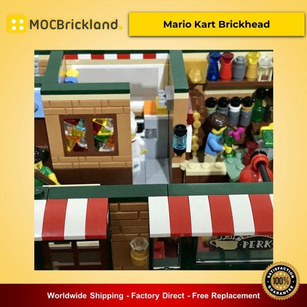 MOC-54894 Modular Central Perk Cafe & Pub Alternative Build of LEGO Set 21319-1 Designed By LegoArtisan With 2258 Pieces