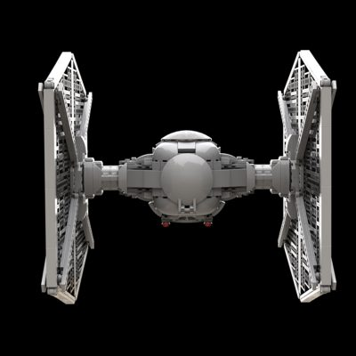 TIE / LN Starfighter UCS (slim cockpit) Star Wars MOC-56226 by thomin with 1266 pieces