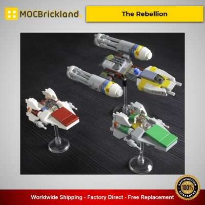 The Rebellion MOC-56438 Star Wars Designed By onecase With 1125 Pieces