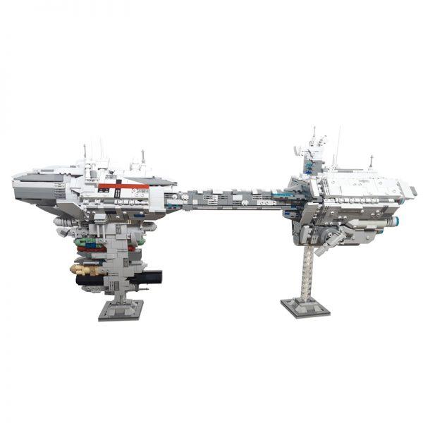 Nebulon-B Escort Frigate MOC-57273 Star Wars Designed By Jedimasterels With 1988 Pieces