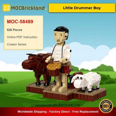 Little Drummer Boy MOC-58489 Creator Designed By JKBrickworks With 526 Pieces