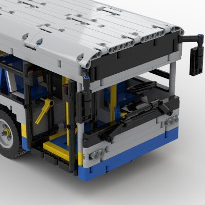 Lego Technic 12m Bus Technic MOC-59883 by Emmebrick with 3569 Pieces