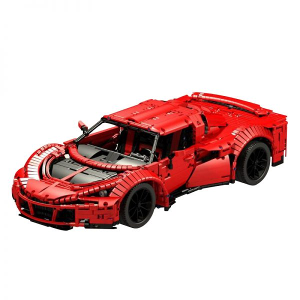 Hennessey Venom GT Spyder Technic MOC-6142 by Thorsten50 with 3006 pieces