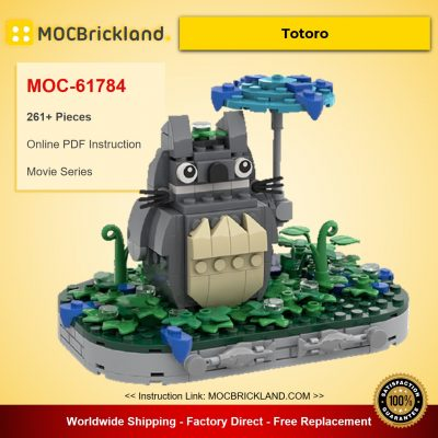 Totoro MOC-61784 Movie Designed By Superesc With 261 Pieces