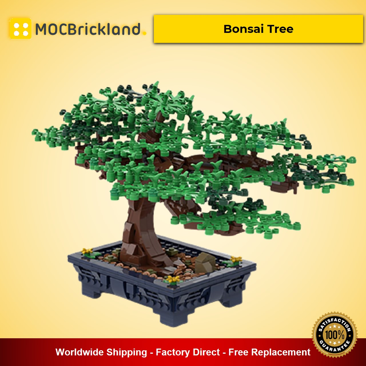 Bonsai Tree MOC-62184 Creator Designed By Gr33tje13 With 647 Pieces
