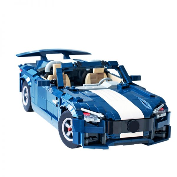Mercedes-AMG GT R Roadster 2020 – B model Technic by buildme MOC-66566 with 1179 Pieces